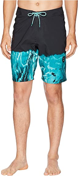 Dafin Resinate Four-Way Stretch Boardshorts 20""