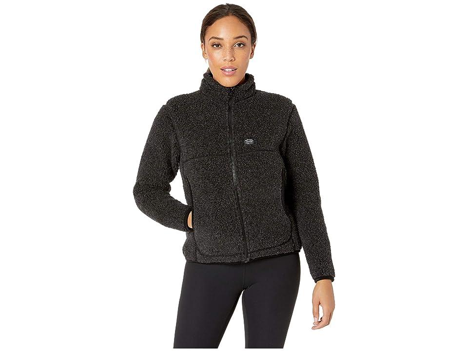 Snow Peak Wool Fleece Jacket (Black) Women