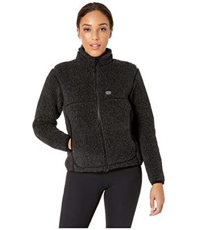 Snow Peak Wool Fleece Jacket (Black) Women