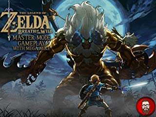 The Legend of Zelda Breath of the Wild Master Mode Gameplay with Mega Mike