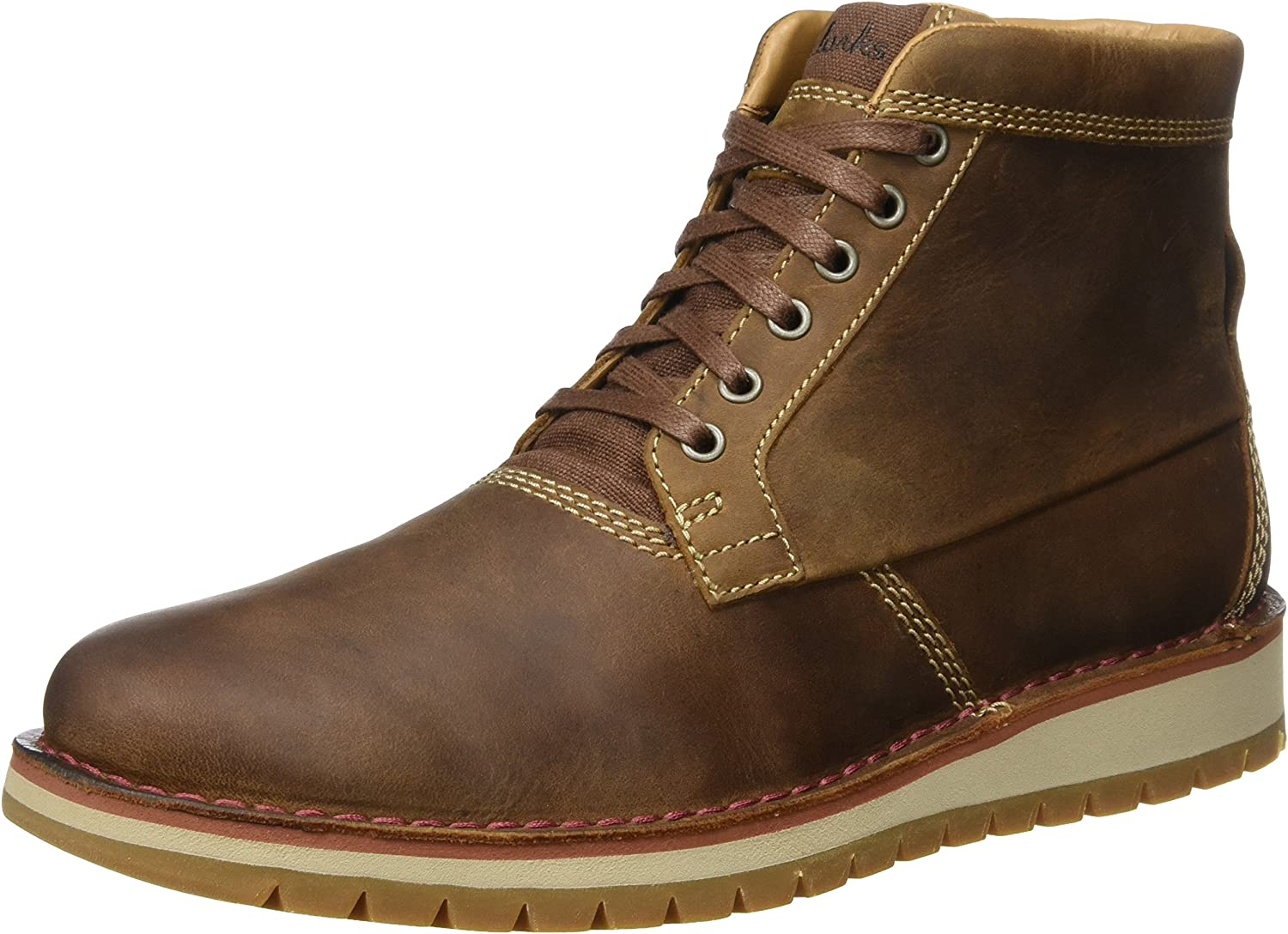 Clarks Men's Boots shoes 26127860 VARBY TOP Brown