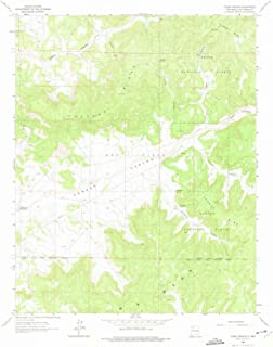 New Mexico Maps - 1963 Vigas Canyon, NM USGS Historical Topographic Map - Cartography Wall Art - 44in x 55in