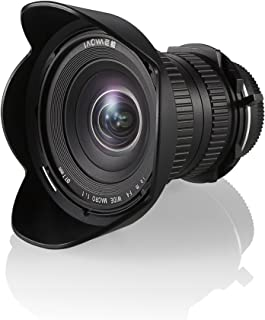 Venus Laowa Full Frame Camera Prime Lens 15mm f/4 Wide Angle Macro Sony A, Black