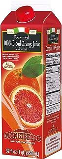 Mongibello 100% Fresh Squeezed Italian Blood Orange Juice 32 Fl Oz (3 Pack)