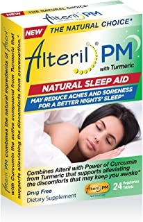 Sponsored Ad - Alteril PM Natural Sleep Aid & Pain Relief 24ct GelCap