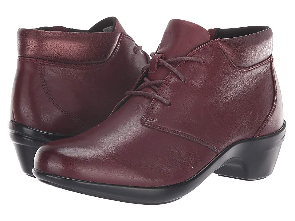 Aravon Kitt Chukka (Maroon Leather) Women