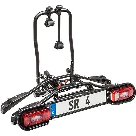 Bullwing Sr4 Fahrradträger Heckträger Für 2 E Bikes Fahrräder Anhängerkupplung Fahrradheckträger Kupplungsträger Fahrradhalter Kupplung Klappbar Auto