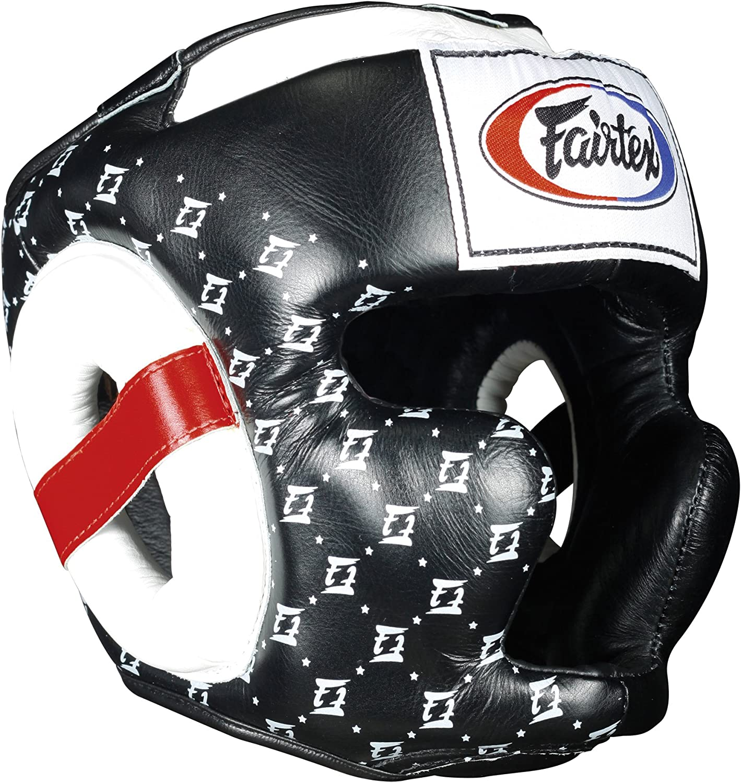 Fairtex Super Sparring Headguard, Black, Medium, UnisexAdult, FXTHG BLACKXL, Black, XLarge