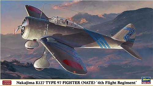 aquí tiene la última Hasegawa HJT07451 Nakajima KI27 Tipo 97 - Kit de de de Modelo, Escala 1 48  barato