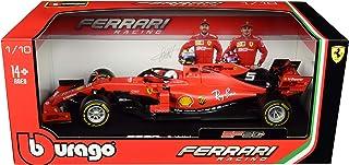 Ferrari SF90#5 Sebastian Vettel F1 Formula 1 (2019) 1/18 Diecast Model Car by Bburago 16807 SV
