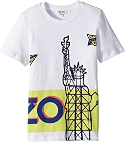 Kenzo Kids - Tee Shirt Paperplane Statue (Big Kids)
