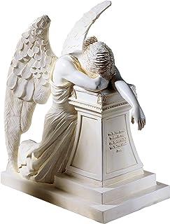 Design Toscano DB16 Angel of Grief Monument Religious Figurine Statue, Desktop, 7 Inch,..