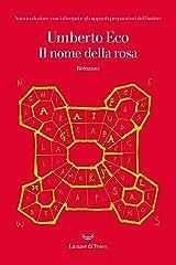 Il nome della rosa: Nuova edizione con i disegni e gli appunti preparatori dell'autore Formato Kindle