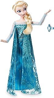 Disney Store Oficial Elsa Princesa muñeca clásica con el