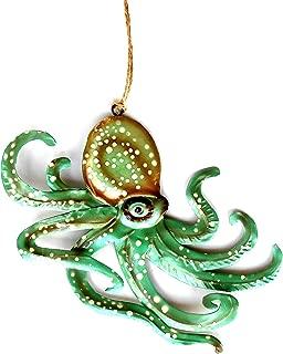 Seafoam Octopus Ornament