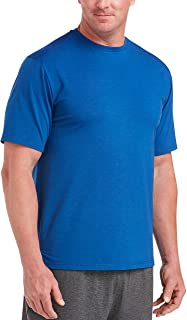 Amazon Essentials Men's Big & Tall Performance Cotton Short-Sleeve T-Shirt fit by DXL