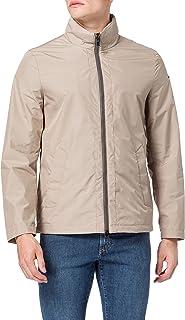 Geox Men's M Elver Short Hooded-Polyest Jacket