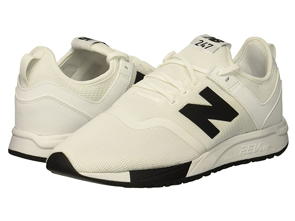 New Balance Classics MRL247Dv1 (White/Black) Men's Shoes