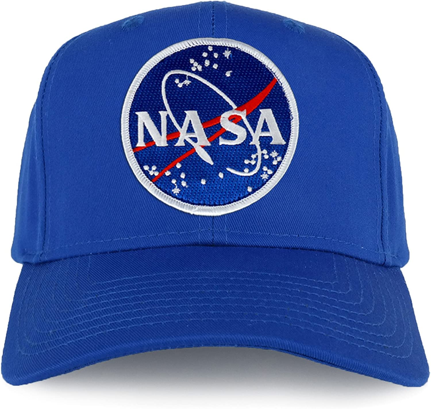 Armycrew 5 ☆ very popular NASA Meatball Super special price Space Logo Snapback Patch Cap Embroidered