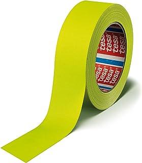 TESA 4671, 19 mm x 25 m Interior y exterior 25m Amarillo cinta adhesiva - Cintas adhesivas (19 mm x 25 m, Amarillo, Reparación, 140 °C, 25 m, 19 mm)