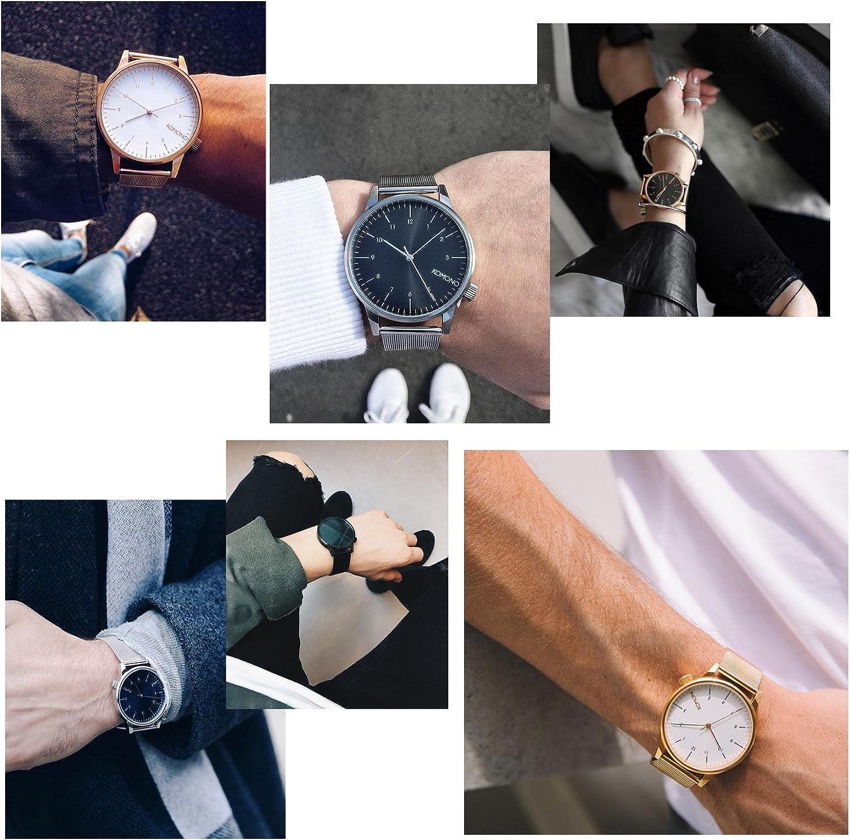 [コモノ] KOMONO ウォッチ 腕時計 WINSTON_ROYALE シルバー メッシュベルト メンズ レディース [並行輸入品]