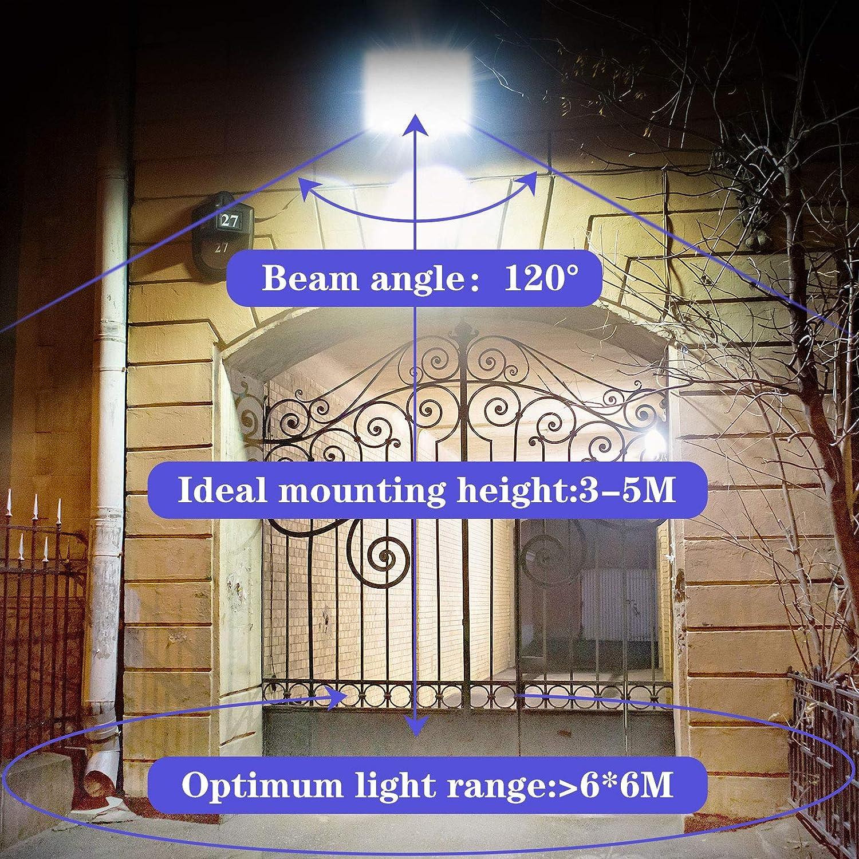 6500k garage aire de jeux terrain de basket 20W Projecteur LED Ext/érieur IP66 Imperm/éable spot led exterieur Blanc froid 2000LM Lumi/ères de s/écurit/é /à domicile /à LED /étanches pour cour parking