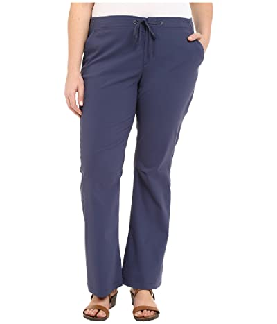 Columbia Plus Size Anytime Outdoortm Boot Cut Pant (Nocturnal) Women