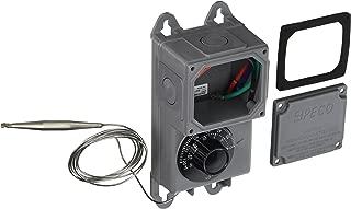 Peco TRF115-005 Industrial NEMA 4X Thermostat, Gray