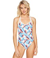 Vince Camuto - Rainforest Racerback One-Piece