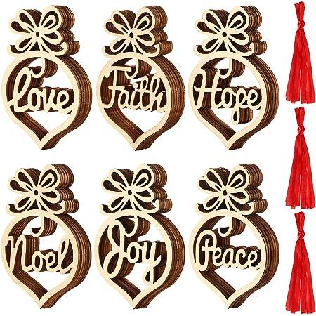 TTAototech 10 Piezas Colgante decoraci/ón del /árbol de Navidad 13 cm Flores de Colores Brillantes con Flocado para Adornos navide/ños Decoraciones de Fiesta de Boda de Navidad