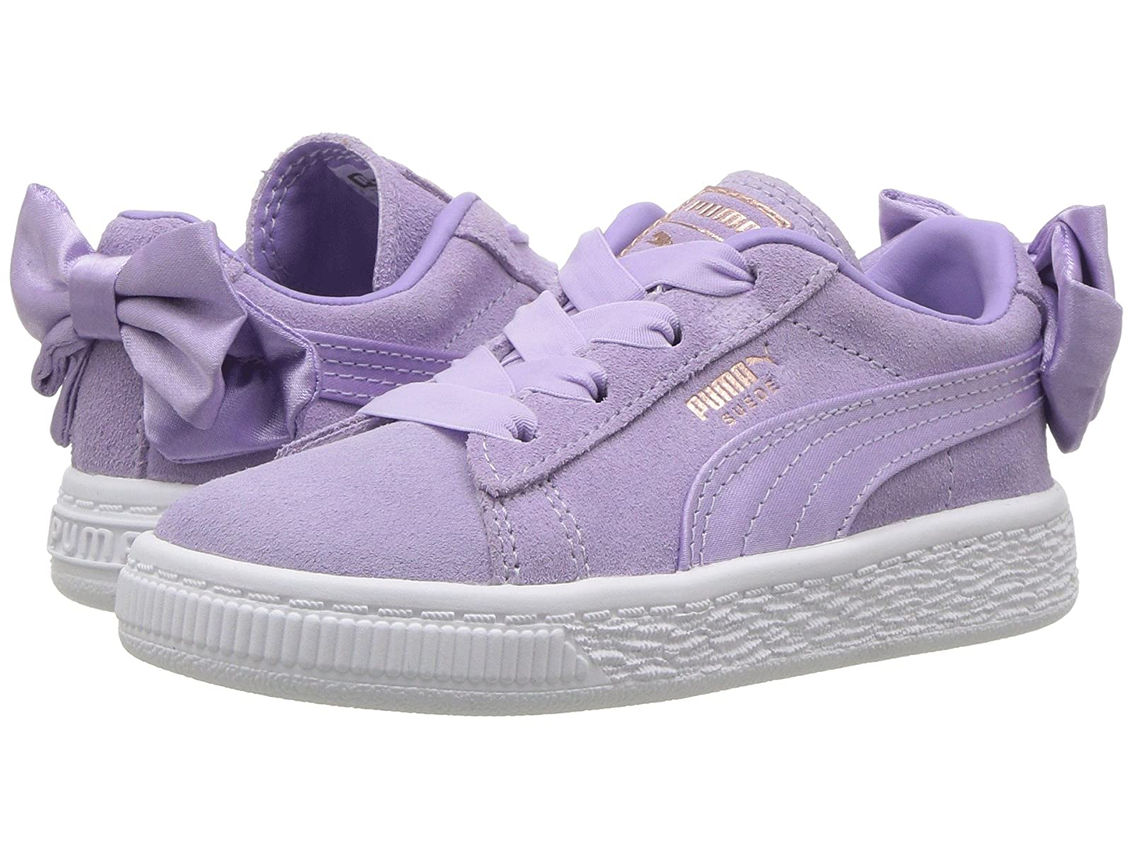 Puma Kids Suede Bow AC INF (Toddler)Atmospheric grades have affordable shoes