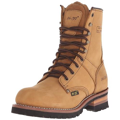 Adtec Mens 9 Inch Logger Boot