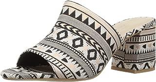 Women's Commute Heeled Sandal, Metallic Tribal, 11 M US