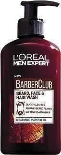 L'Oreal Men Expert Barber Club 3-In-1 Beard, Hair & Face Wash, 200 ml