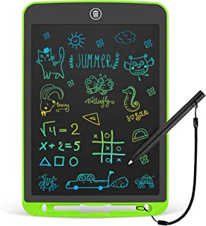 LCD Writing Tablet 10 Inch Toddler Doodle Board ,Colorful Drawing Tablet, Erasable Reusable Electronic Painting Pads, Educ...