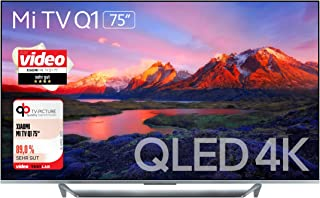 Xiaomi 75 inch QLED 4K HDR10+ Smart Android TV with Hands free Google Assistant, Support Dolby Audio,Dolby Vision, Netlfi...
