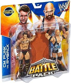 Mattel WWE Battle Packs 29 Cm Punk & Ryback Wrestling Action Figure With Breakaway Table