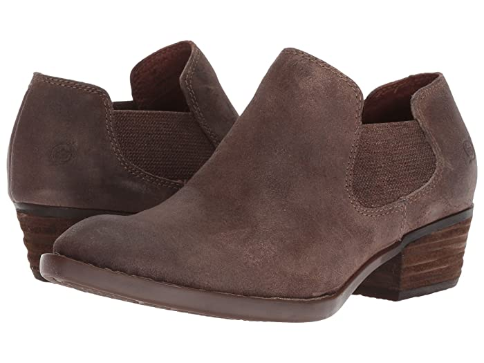 Born  Dallia (Taupe Distressed) Womens Pull-on Boots