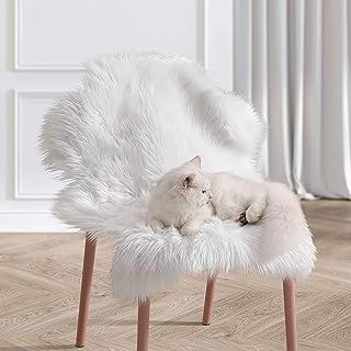 Ophanie Ultra-Luxurious Fluffy Sheepskin Area Rug, Soft...