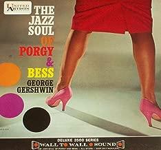 THE JAZZ SOUL OF PORGY & BESS George Gershwin LP original 1st US pressing MONO United Artists WWR 3517 Charlie Shavers ART FARMER Zoot Sims BILL EVANS Near MInt