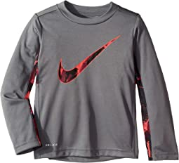 Dri-FIT Long Sleeve Graphic Legacy Top (Toddler)