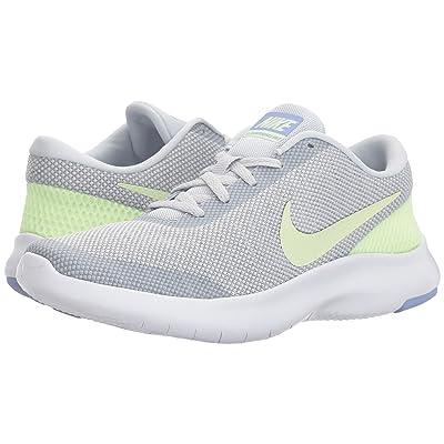 Nike Flex Experience RN 7 (Pure Platinum/Barely Volt/Wolf Grey) Women