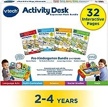 VTech Activity Desk 4-in-1 Pre-Kindergarten Expansion Pack Bundle for Age 2-4
