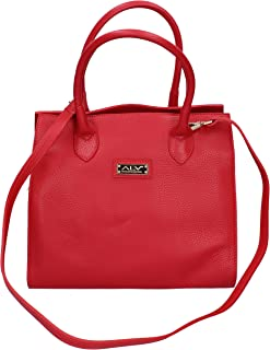 ALV by ALVIERO MARTINI Hobos & Shoulder Bags womens leather Red Medium