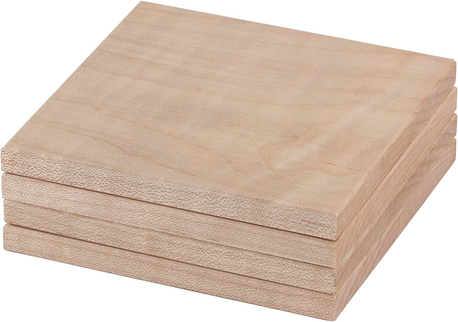 Whitmore Goods Solid Tampa Mall Coasters Chamfered 5 popular Maple