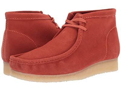 Clarks Wallabee Boot (Burnt Orange Suede) Men