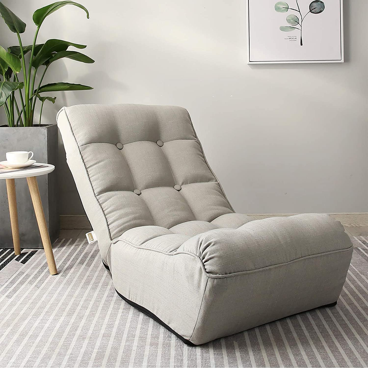 DEPOINTER Chaise Lounge New sales Super-cheap Sofa Floor Lazy Sleep Gaming Chair