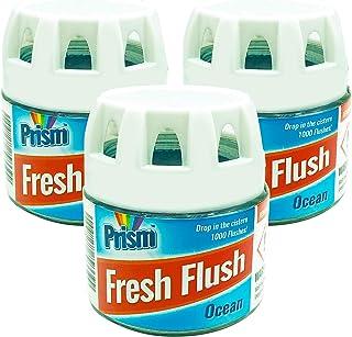 Prism Aromatizantes para los inodoros (bloque de cisterna con aroma a océano) 1000 descargas Paquete de 3