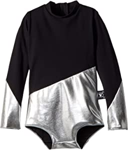 Nununu - Half and Half Long Sleeve Swimsuit (Infant/Toddler/Little Kids)