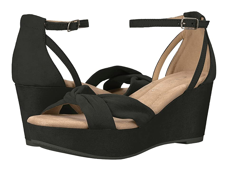CL By Laundry Devin (Black Super Suede) Women